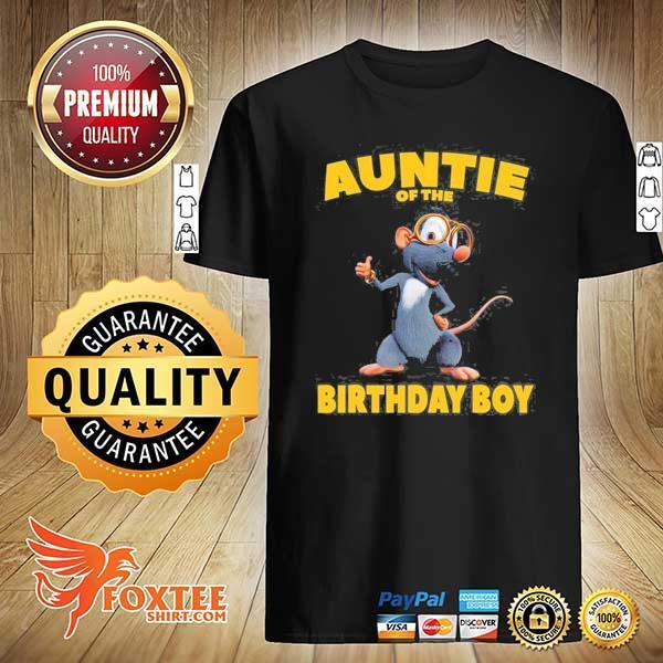 Booba auntie of the birthday boy shirt