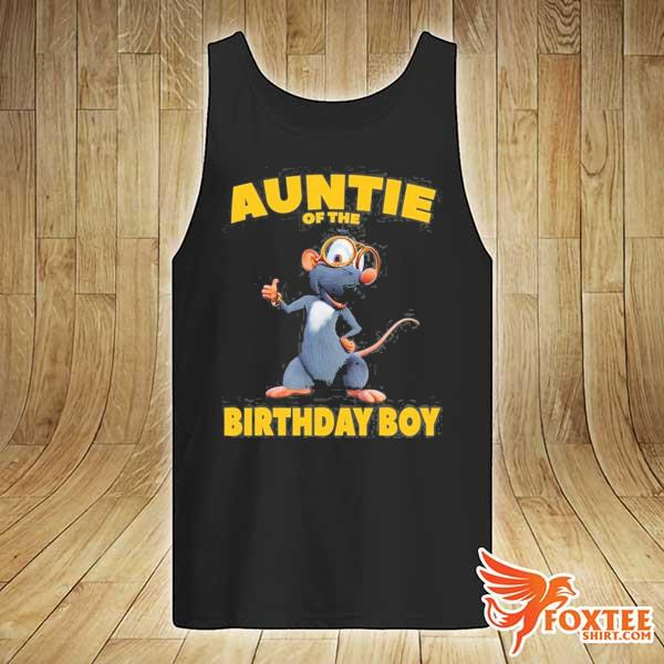 Booba auntie of the birthday boy s tank-top