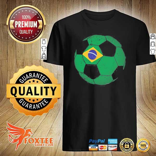 Brazil soccer ball flag jersey brazilian football shirt