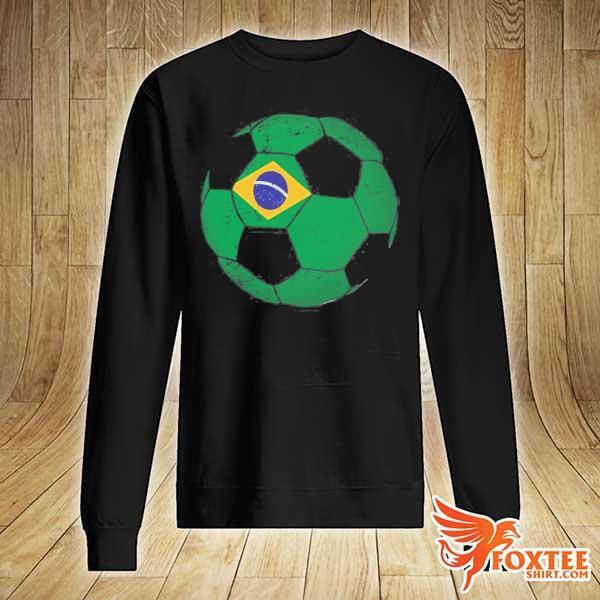 Brazil soccer ball flag jersey brazilian football s sweater