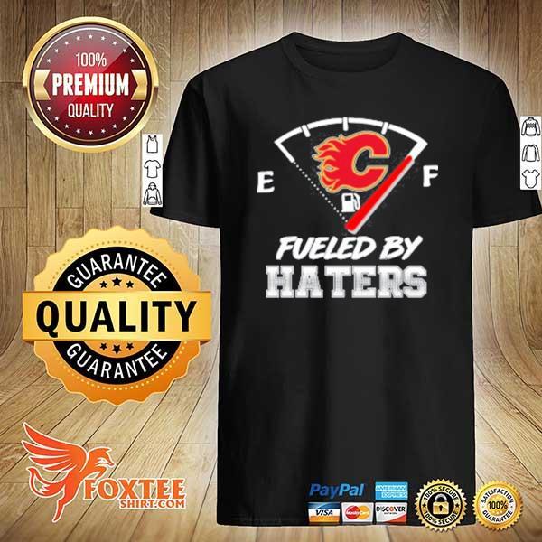 Calgary Flames NHL Hockey Fueled By Haters Sports Youth Sweatshirt