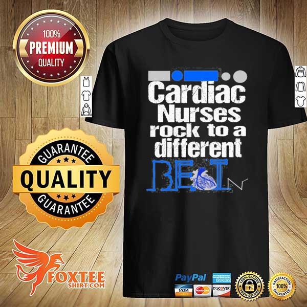 Cardiac nurse anatomical heart telemetry ekg rhythm gift shirt