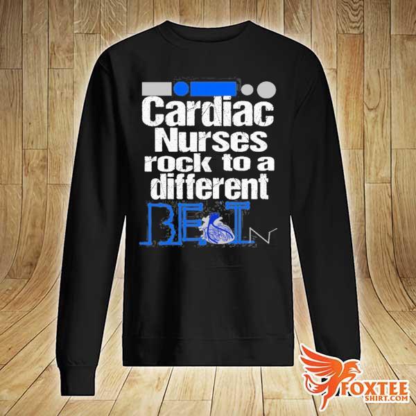 Cardiac nurse anatomical heart telemetry ekg rhythm gift s sweater