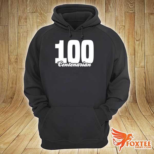 Centenarian grandpa grandma 100 years old 100th birthday s hoodie