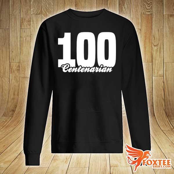 Centenarian grandpa grandma 100 years old 100th birthday s sweater