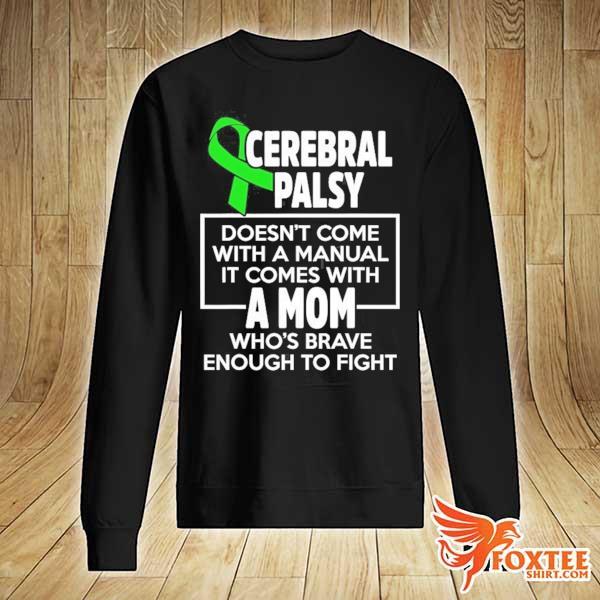 Cerebral palsy cp awareness mom warrior survivor s sweater