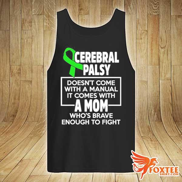 Cerebral palsy cp awareness mom warrior survivor s tank-top