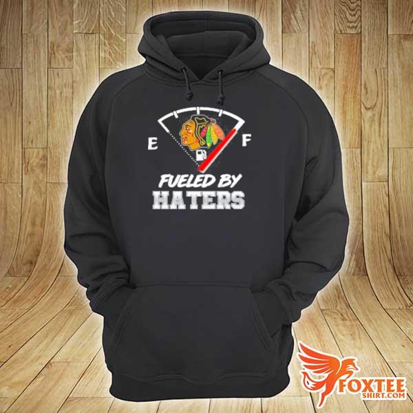 Chicago blackhawks nhl hockey fueled by haters sports youth s hoodie