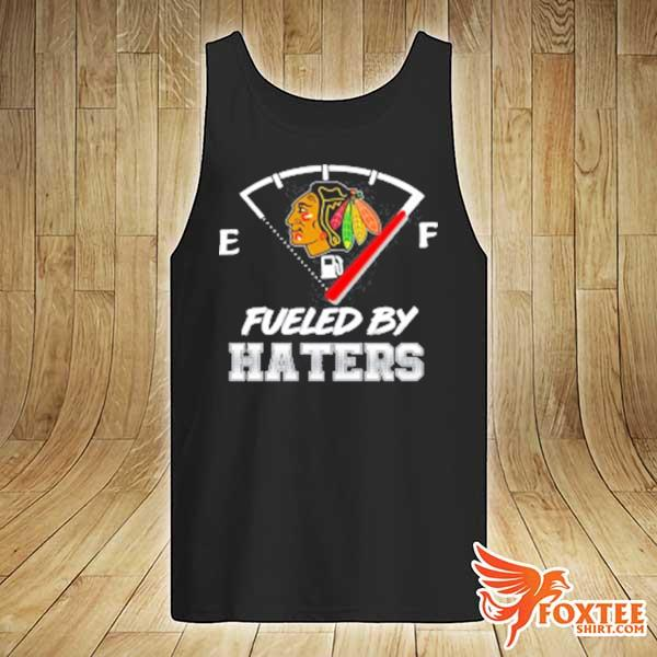 Chicago blackhawks nhl hockey fueled by haters sports youth s tank-top