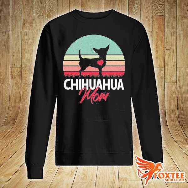 Chihuahua mom chihuahua owner chihuahua lover vintage retro s sweater