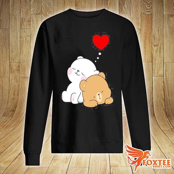 Cute milk mocha bear dream lovers love hugs kisses valentine s sweater