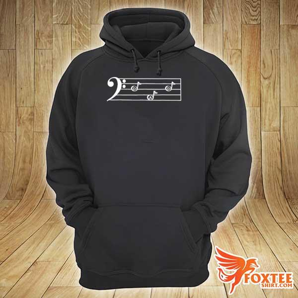 Dad f cleff bass player father's day gif s hoodie