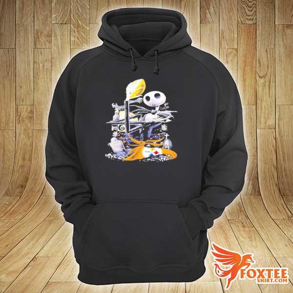 Pittsburgh Steelers jack skellington s hoodie