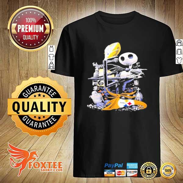 Pittsburgh Steelers jack skellington shirt