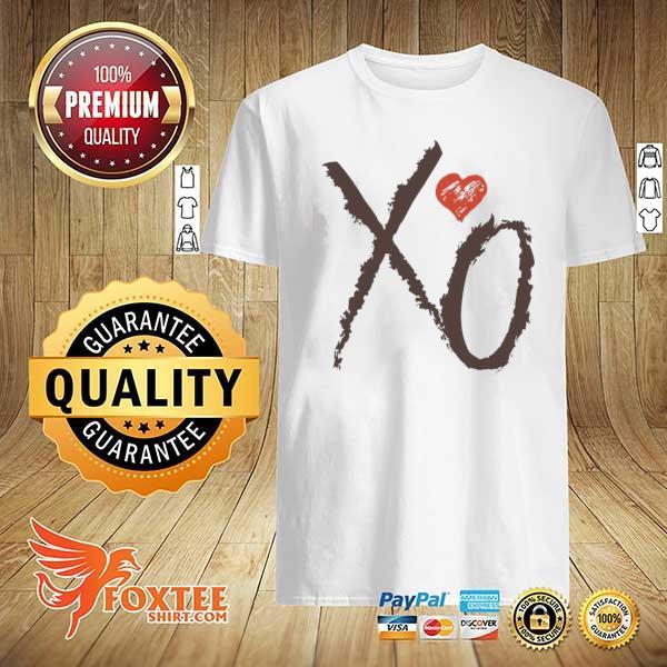 Valentines day xoxo heart hug kiss shirt